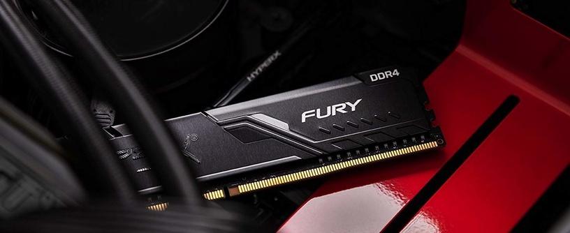 Operatīvā atmiņa (RAM) Kingston HyperX Fury Black HX434C16FB3/8 DDR4 8 GB CL16 3466 MHz