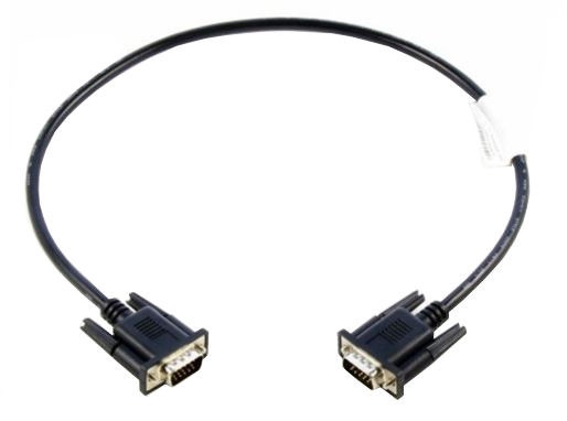 Lenovo Cable VGA to VGA 0.5m Black