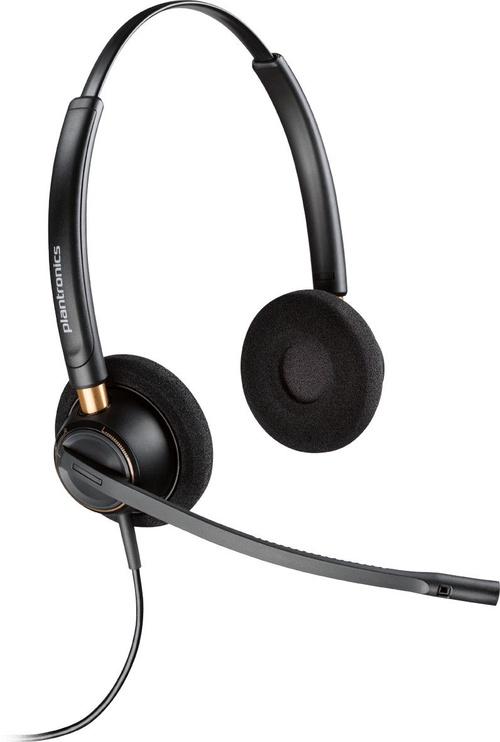 Austiņas Plantronics EncorePro HW520 Binaural Black