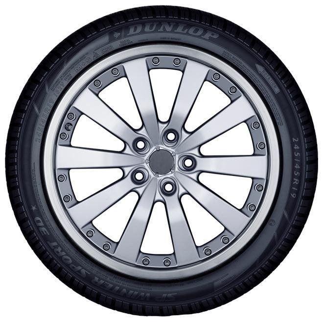 Ziemas riepa Dunlop SP Winter Sport 3D, 265/50 R19 110 V XL E E 73