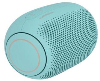 Bezvadu skaļrunis LG XBOOM Go PL2B, zila/zaļa, 5 W
