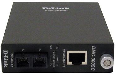 Optiskais pārveidotājs D-Link DMC-300SC, 100 Mb/s
