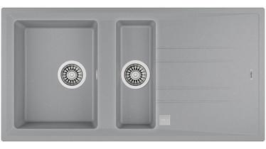 Teka Stone 60 B-TG Sink Aluminium