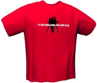 GamersWear Schoolgirl T-Shirt Red M