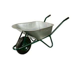 Limex Wheelbarrow Steel/Green 85l