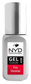 Лак для ногтей NYD Professional Gel Color 093, 10 мл