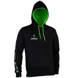 GamersWear Sprout Hoodie w/ Logo XL Black/Green