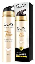 Sejas krēms Olay Total Effects 7in1 Featherweight Moisturiser SPF15, 50 ml