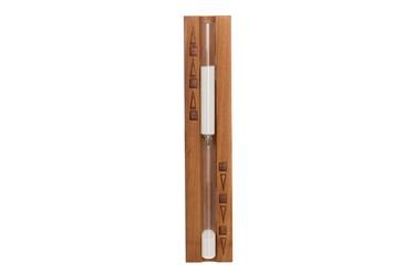 4Living Sauna Sand Clock Dark Wood