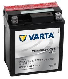 Akumulators Varta Powersports AGM YTX7L-4 / YTX7L-BS, 12 V, 6 Ah, 100 A