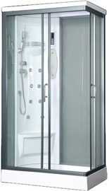 Dušas kabīne Vento Biello Left, taisnstūrveida, 700x1100x2180 mm