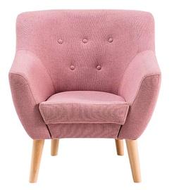 Atzveltnes krēsls Signal Meble Nordic 1 Pink, 55x76x90 cm