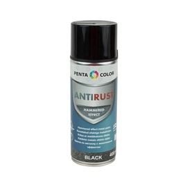 Pentacolor Aerosol Paint Universal Antirust Hammered Effect 0.4l Black