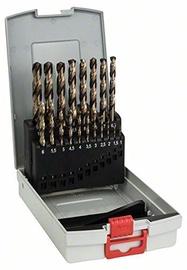 Bosch 2608587014 HSS-CO Metal Drill Bit Set 19pcs