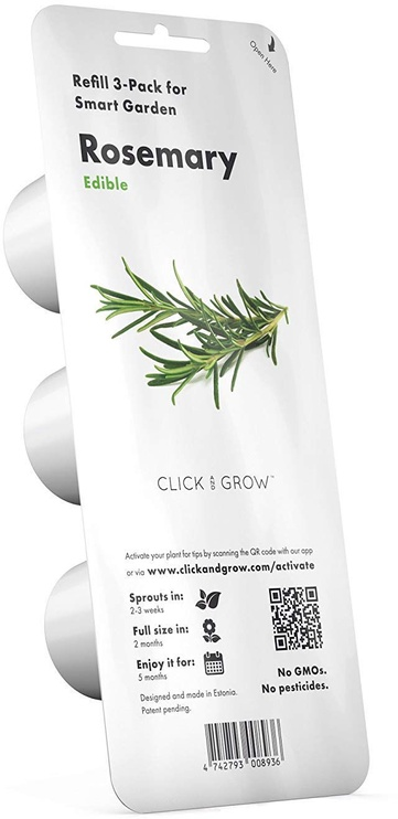 Click & Grow Smart Home Rosemary Refill 3-Pack