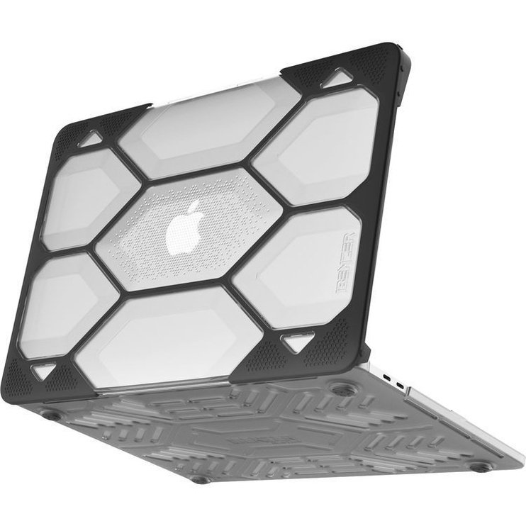 iBenzer Hexpact Macbook Pro 13 Case Crystal Clear