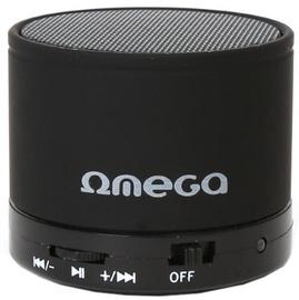 Bezvadu skaļrunis Omega OG47B Metal Body Black, 3 W