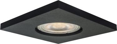 Light Prestige Lagos Ceiling Lamp 50W GU10 Square Black