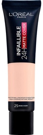L´Oreal Paris Infallible 24H Matte Cover Foundation 30ml 25