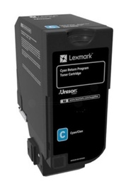 Lexmark 74C2SCE Corporate Toner Cartridge Cyan