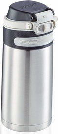 Leifheit Flip Insulated Mug 350ml Silver