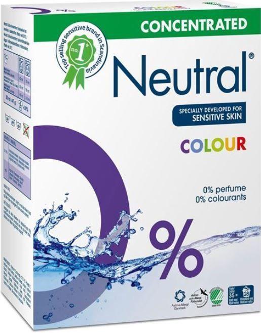 Veļas pulveris Neutral Color, 1.316 kg