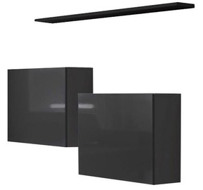 ASM Switch SB I Hanging Cabinet/Shelf Set Graphite/Black Matt