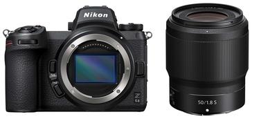 Sistēmas fotoaparāts Nikon Z 6 II + Nikkor Z 50 mm f/1.8