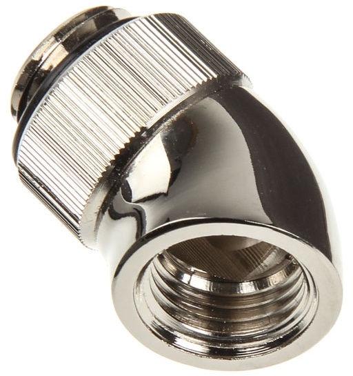 Ohne Hersteller 45 Degree G1/4 Adapter Nickel