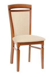 Ēdamistabas krēsls Black Red White Natalia, smilškrāsas