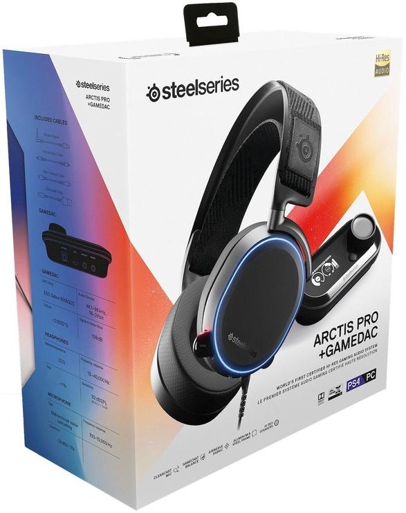 Игровые наушники Steelseries Arctis Pro + GameDAC Black