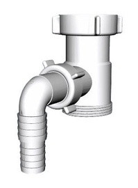 Ani Plast 1 1/2'' Washing Machine Siphon