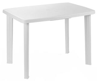 Dārza galds Diana Faretto White, 101 x 68 x 72 cm