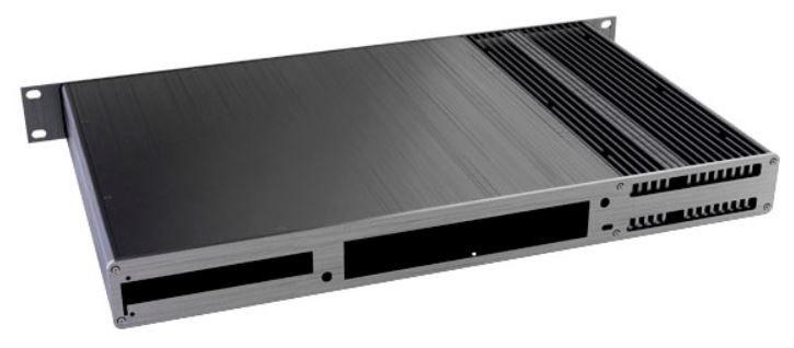 Akasa Galileo TU3 Thin-Mini-ITX 1U Case Black