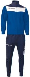 Givova Campo Tracksuit Blue 3XS