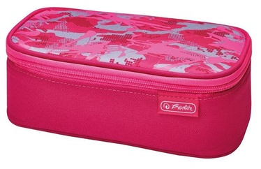 Herlitz Pencil Pouch be.bag BeatBox Camouflage Pink