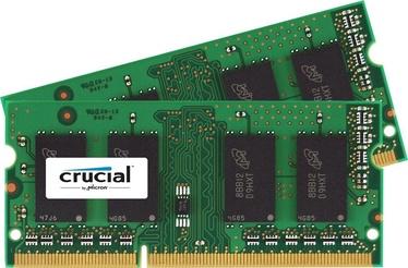Operatīvā atmiņa (RAM) Crucial CT2KIT51264BF160B DDR3 (SO-DIMM) 8 GB CL11 1600 MHz
