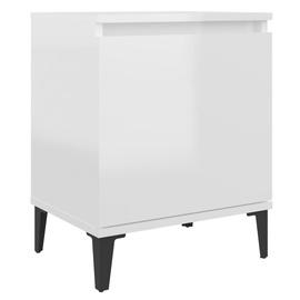 Ночной столик VLX High Gloss 805845, белый, 30x40x50 см
