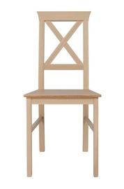 Ēdamistabas krēsls Black Red White Alla 4, smilškrāsas