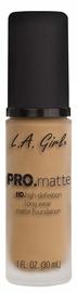 Tonizējošais krēms L.A. Girl PRO Matte Foundation Sandy Beige, 30 ml