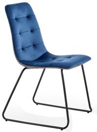 Ēdamistabas krēsls Halmar K321 Blue/Grey, 1 gab.