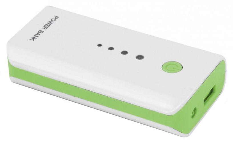 Ārējs akumulators Esperanza Electron Green, 5200 mAh