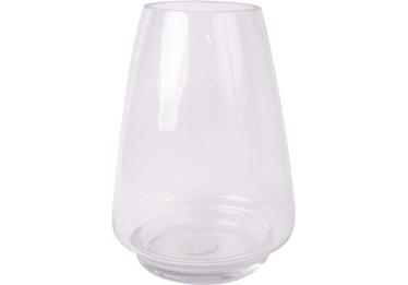Ваза In Home Clear Glass 335178, прозрачный, 250 мм