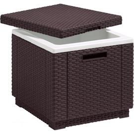 Dārza galds Keter Ice Cube Brown, 420 x 420 x 410 cm