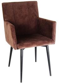 Ēdamistabas krēsls Verners Monaco Brown 395744, 1 gab.