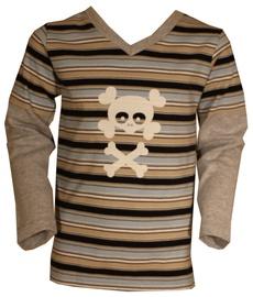 Bars Junior Long Sleeve Shirt Brown 38 116cm