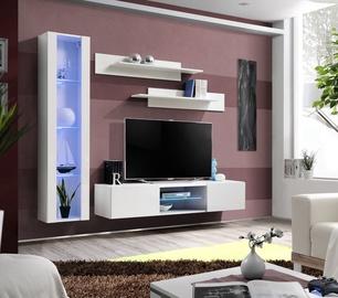Dzīvojamās istabas mēbeļu komplekts ASM Fly R2 White