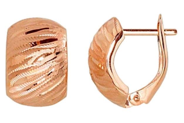 Diamond Sky Gold Earrings Classic I