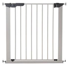 BabyDan Premier Safety Gate + 2 Ext Silver/Black