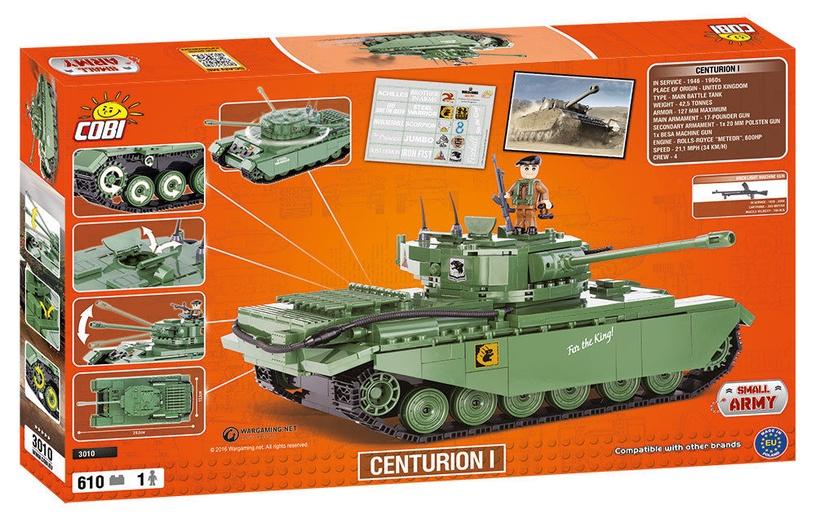 Конструктор Cobi Small Army World Of Tanks Centurion I 3010